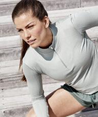 Therése som skarp træning- og sportsmodel for Endurance