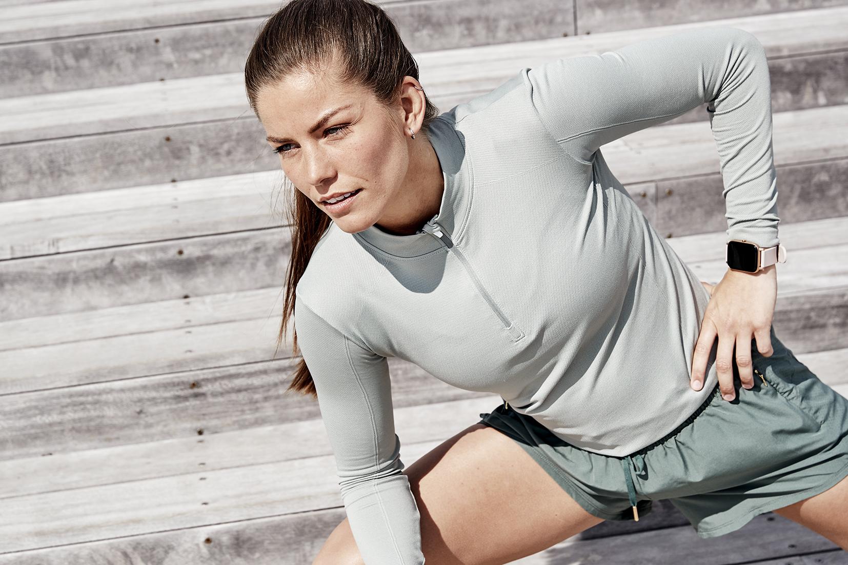 Læs nyheden: Therése som skarp træning- og sportsmodel for Endurance